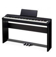 Цифровое фортепиано Casio Privia PX-160BK со стойкой и педалями