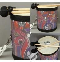 Барабан детский на ремне (двусторонний) Brahner DP-1011