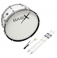BASIX Marching Bass Drum 26x10