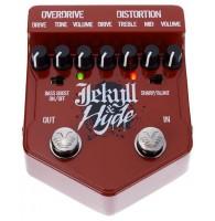 VISUAL SOUND V2JH  V2 Jekyll and Hyde эффект гитарный сдвоенный овердрайв/дисторшн