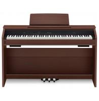 Privia PX-860BN, цифровое фортепиано с подставкой (цвет коричневый)
