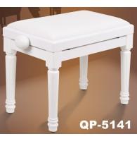 Банкетка фортепианная Vision QP-5141 White