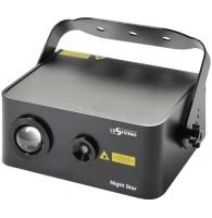 LS Systems Night Star - лазер, синий светодиод LED 5W