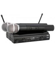 PROAUDIO DWS-204HT - радиосистема двухантенная с двумя микрофонами