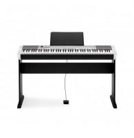 Casio CDP-130SR, цифровое фортепиано со стойкой (цвет серебристый)