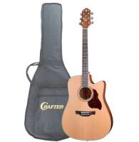Crafter DE-7/N - электроакустическая гитара с фирменным чехлом