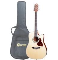 Crafter DE-8/N - электроакустическая гитара с фирменным чехлом