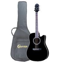 Crafter ED-75 CEQ/BK + Чехол- электроакустическая гитара
