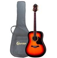 CRAFTER D-8/TS+Чехол - Акустическая гитара  с фирменным чехлом в комплекте