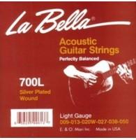 LA BELLA 700L - Струны для акустической гитары
