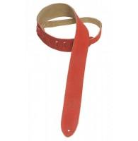 LEVYS MS12-RED - замшевый ремень для электрогитары