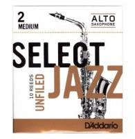 RICO RRS10ASX2M Select Jazz трости д/сакс альт, unf, 2M