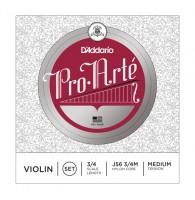 D ADDARIO J56 3/4M Pro-Arte струны скрипичные 3/4 medium