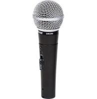 SHURE SM58S динамический кардиоидный вокальный микрофон с выключателем