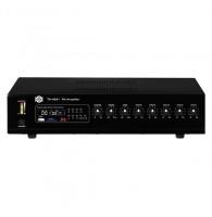 Show TA-4241 - трансляц. система 240вт, 25/70/100в, 4Line/mic+2AUX, MP3 плеер пишущий