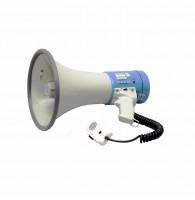 SHOW ER-66SDR - мегафон ручной 25 вт, вын.микр.,сирена, 12 в, функция записи сообщения  60 сек.