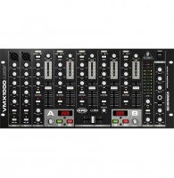 Behringer VMX1000USB - микшер для DJ, 7-канальный,встроенный USB-интерфейс, МАС, РС, микр.предусил.