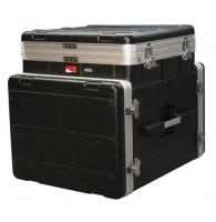 GATOR GRC-10X8PU -  кейс,пластик,черный,10U верх, 8U низ, подъемный механизм