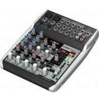 Behringer QX1002USB - микшер, 10 каналов, 2-Bus, процессор эффектов
