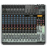 Behringer QX2222USB - микшер, 16каналов, 3-х полосный эквалайзер DSP KLARK TEKNIK, USB интерфейс