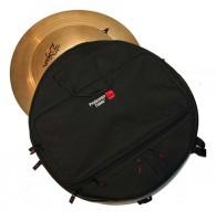 GATOR GP-CYMBAK-22 - нейлоновая сумка для тарелок,  с разделителями, на 6 тарелок до 22