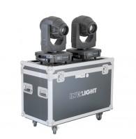 Involight PROSPOT300SET - набор из 2х вращающихся голов (в кейсе), белый светодиод 120 Вт, DMX-512