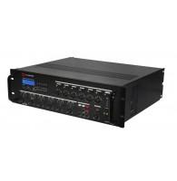 SHOW PS-2406 - трансляционная система 240 вт,100в/4 ом, 6 зон, со встроенным MP3, FM