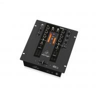 BEHRINGER NOX101 - 2-канальный DJ микшер с полным VCA управлением ULTRAGLIDE кроссфейдером