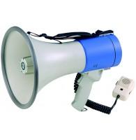 SHOW ER-66 - мегафон ручной 25 вт, выносной микрофон,  12 в, 8 батарей тип
