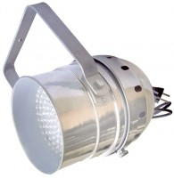 Involight LEDPAR56/AL - светодиодный RGB прожектор (хром), звуковая активация , DMX-512