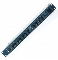KV2 VHDPREAMP - 5-канальный предусилитель с микрофонным вх.+ стер. вх.+RCA вх.,+48В, 4-пол.экв.,