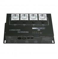 Involight AD8 - диммер 4-х канальный, 1 кВт на канал, DMX-512, аналоговое 0-10 В
