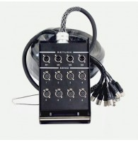 Invotone DB0804/20M - распределительная коробка 8 входов-4 выхода, длина  20 м