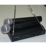 Karsect KRV-20/KST-53V - радиосистема VHF с двумя ручными микрофонами