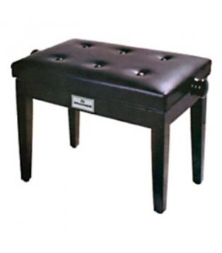 BRAHNER BP-100/BK - Банкетка для рояля/ пианино, с подъемным механизмом (регулируемая)
