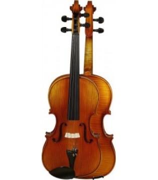 Скрипка Grand GV-415 1/2 - смычок и футляр в комплекте