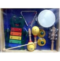 Набор детской перкуссии Brahner DP-551 - 6 предметов
