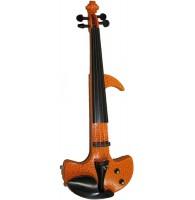 Электроскрипка Woodcraft FANTASY 3YRD 4/4 - красно/жёлтая