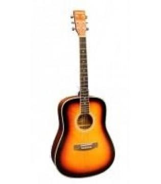 Акустическая гитара Woodcraft W-5/SB(WR)