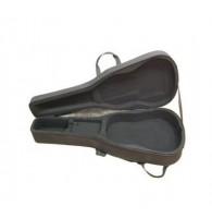 BRAНNER GC-41-1 - Кейс для акустической гитары контурный, облегченный , с карманом, черный