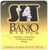 SIT B51024 - Струны для банджо (10-13-15-24w-10)