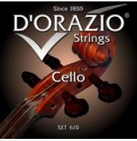D ORAZIO 610AL - Струны для виолончели