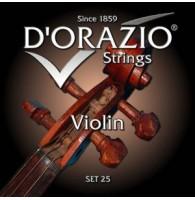 D ORAZIO 25 - Струны для скрипки