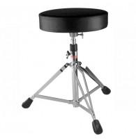 BRAHNER T-1B - Стул металлический для барабанщика (пианиста) поворотный с регулируемой высотой, складной