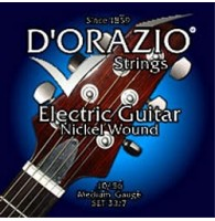 D'ORAZIO 33/7 Nickel wound Струны для электрогитар