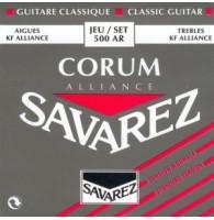 SAVAREZ 500 AR ALLIANCE CORUM ROUGE - Струны для классической гитары