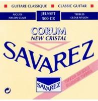 SAVAREZ 500 CR NEW CRISTAL CORUM - Струны для классической гитары
