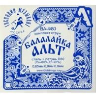 Струны для балалайки альт Господин музыкант BA-4/80