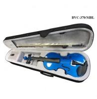 Скрипка BRAHNER  BVC-370/MBL 4/4  окрашенная, цвет - СИНИЙ металик