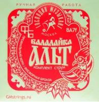 Струны для балалайки альт Господин музыкант BA-7f